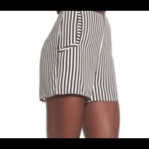 Leith Striped shorts
